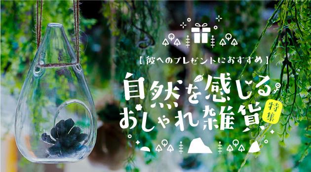おすすめ記事・彼へのプレゼントにも◎自然を感じるおしゃれ雑貨特集のサムネイル