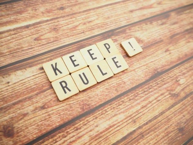 長続きさせるためのルール5カ条
