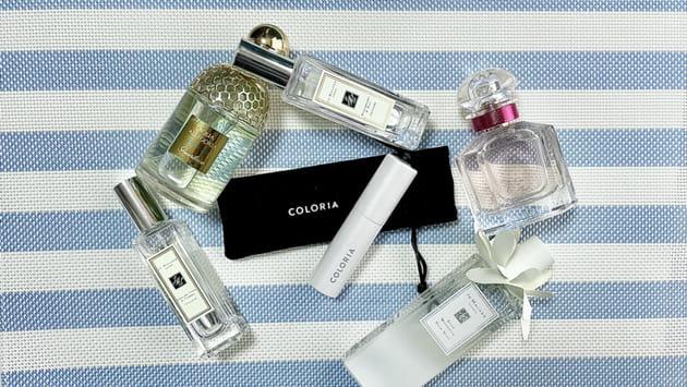 気分で香水を選ぼう!香水のサブスク・COLORIAをレビュー