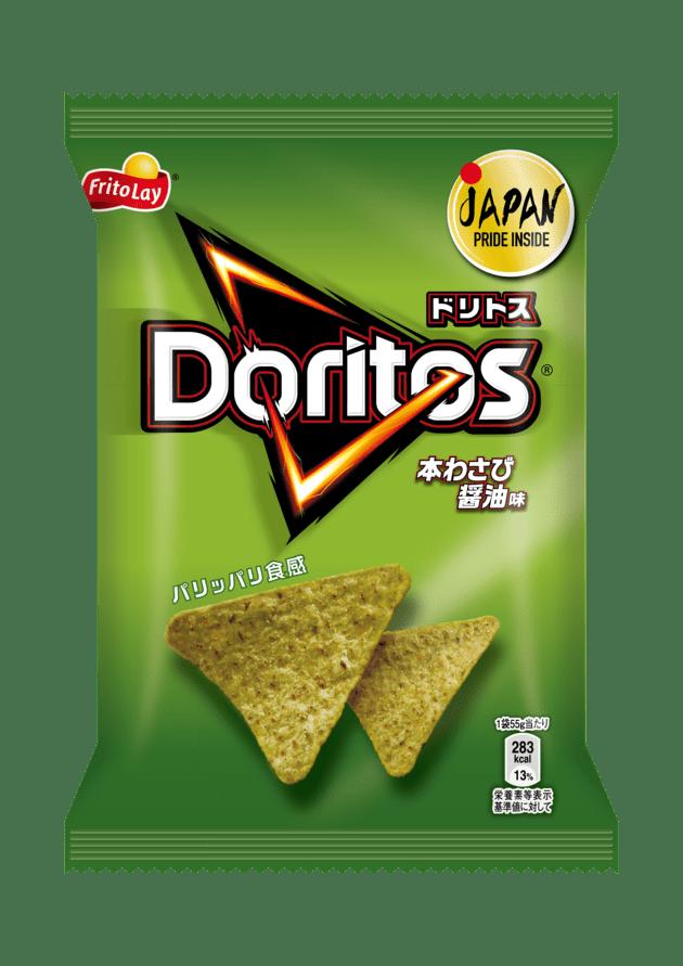 ドリトス 本わさび醤油味